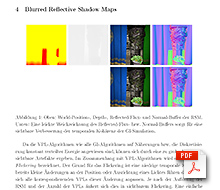 Analyse aktueller Real-Time Global Illumination Algorithmen und Optimierung durch Blurred Reflective Shadow Maps [Paper]